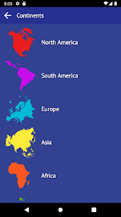 Countries of the World - reference and quiz