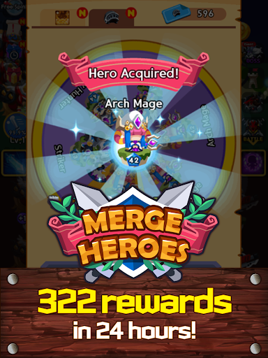 Merge Heroes Frontier: Casual RPG Online 3.3.0 screenshots 12