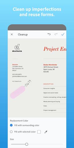 Adobe Scan: PDF Scanner with OCR, PDF Creator  screenshots 3