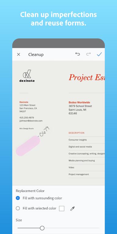 Adobe Scan: PDF Scanner with OCR, PDF Creator  poster 2