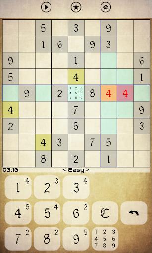 Sudoku - Classic apktreat screenshots 1
