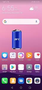 Battery Temperature Widget 2