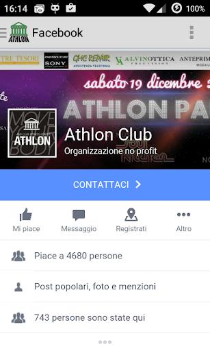 athlon club screenshot 3