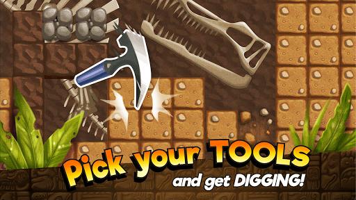 Dino Quest - Dig & Discover Dinosaur Fossil & Bone 1.6 screenshots 1