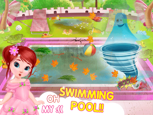 Princess House Cleanup For Girls: Keep Home Clean apkpoly screenshots 9