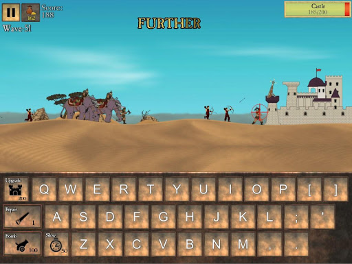 Type Defense - Typing and Writing Game  screenshots 5