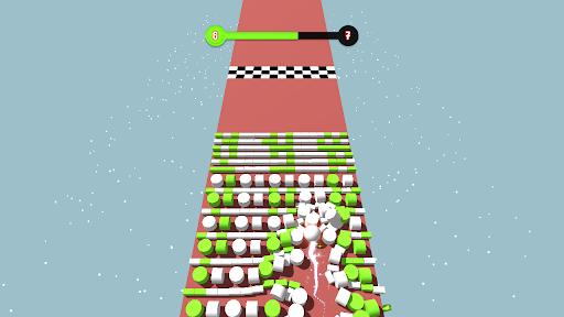 Code Triche Color Bumb Cross ball crush  game bump up the jump (Astuce) APK MOD screenshots 3