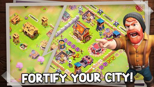 Survival City - Zombie Base Build and Defend apkpoly screenshots 2