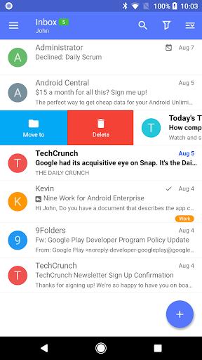 Nine - Email & Calendar apktram screenshots 1
