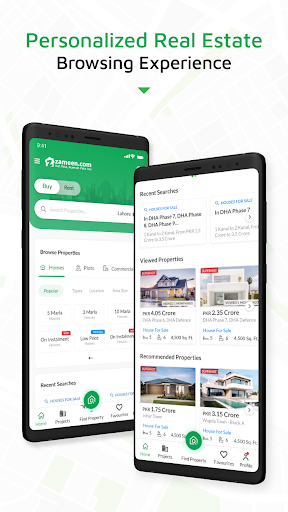 Zameen - No.1 Property Search and Real Estate App  Screenshots 1