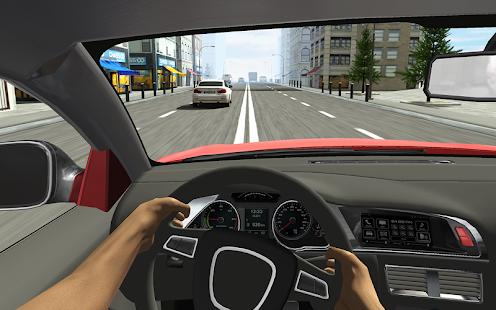 Racing in Car Screenshot