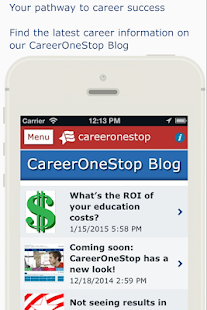 CareerOneStop Mobile