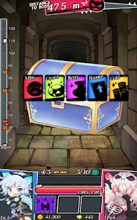 Dungeon & Girls: Card RPG Screenshot