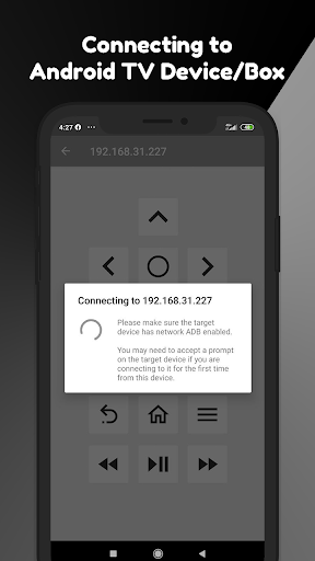 Remote for Android TV 1.3 screenshots 3