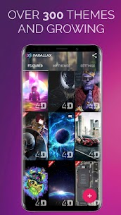 3D Parallax Background – 4D HD Live Wallpapers 4K Apk 5