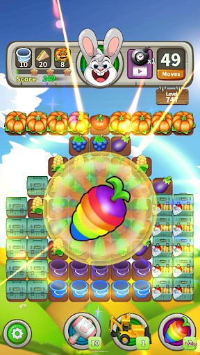 Farm Raid : Cartoon Match 3 Puzzle  screenshots 4
