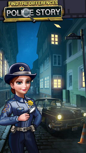 Find The Differences : Police Detective Story APK MOD (Astuce) screenshots 5