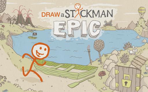 Draw a Stickman: EPIC Free 1.4.3.104 screenshots 1
