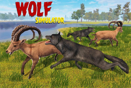 Code Triche simulateur de loup: jeu de jungle sauvage APK Mod screenshots 1