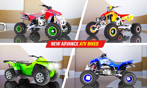 Light ATV Quad Bike Racing, Traffic Racing Games 18 Screenshots 7