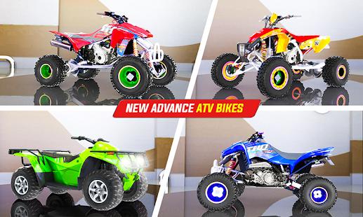 Light ATV Quad Bike Racing, Traffic Racing Games 19 Screenshots 7