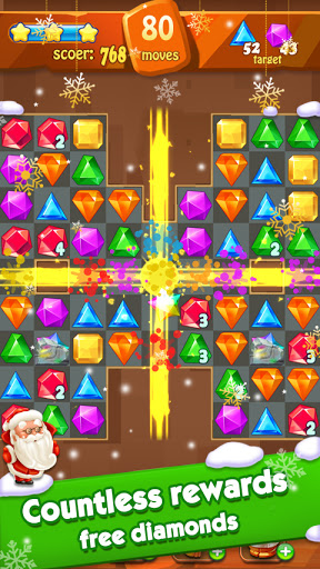 Jewels Classic - Jewel Crush Legend 3.1.0 screenshots 15