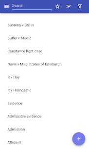 Evidence law Apk 3