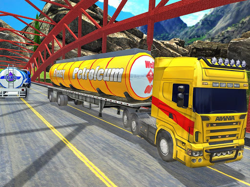 Offroad Oil Tanker Truck Transport Driver  Screenshots 17