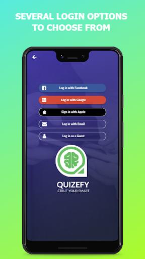 Quizefy u2013 Live Group, 1v1, Single Play Trivia Game  screenshots 2