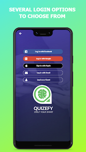 Quizefy – Live Group, 1v1, Single Play Trivia Game Apk Download NEW 2021 2