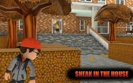 Evil Scary Teacher Creepy Game: Horror House 3D screenshots 1