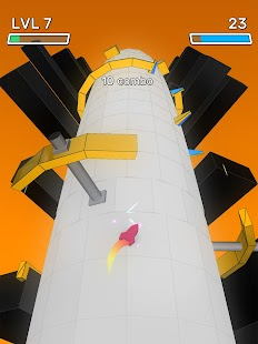 Geometry Slalom: Infinite Power Slide Screenshot