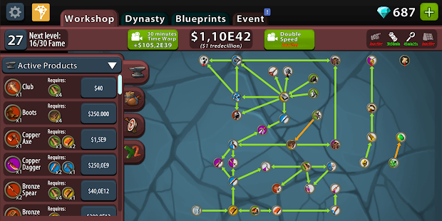 Crafting Idle Clicker Screenshot