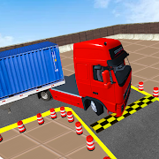 Free Truck parking Games- Real truck driving games