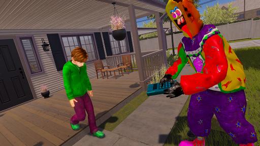 Crazy Ice Scream Clown:Freaky Clown Horor Neighbor  screenshots 5