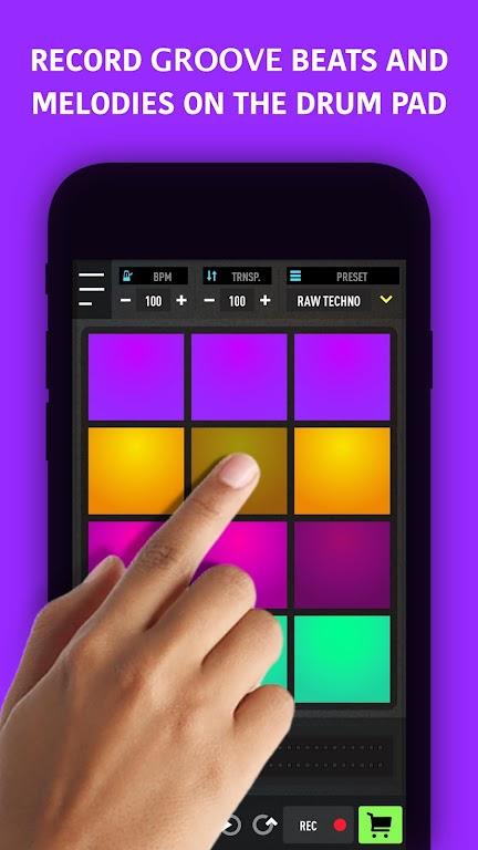 MixPads - Drum pad machine & DJ Audio Mixer  poster 1