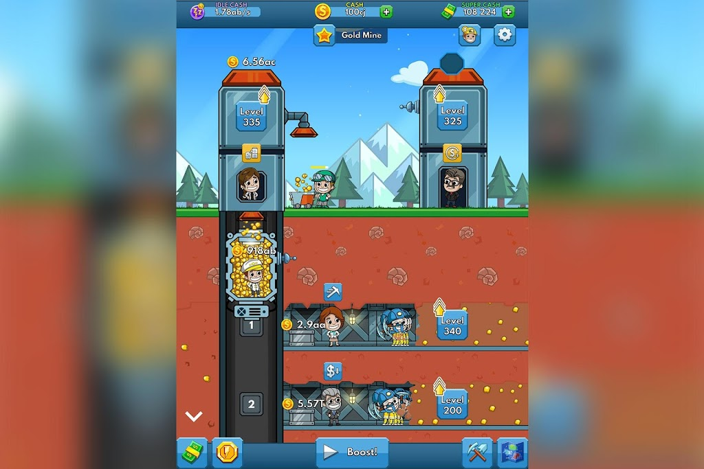 Idle Miner Tycoon: Mine & Money Clicker Management  poster 5