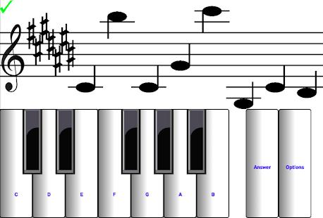 (light) learn sight read music notes piano tutor 7.0.3 Screenshots 8