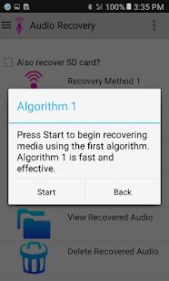 Audio Recovery 4.8 APK screenshots 2