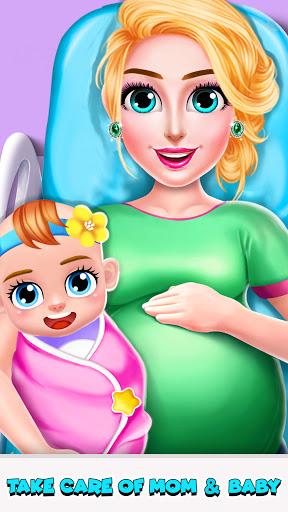 Télécharger Gratuit Jeux de maman enceinte et bébé - Jeux de filles APK MOD (Astuce) screenshots 1