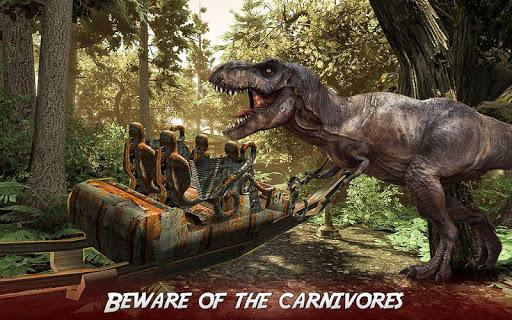 Real Dinosaur RollerCoaster VR apktram screenshots 2