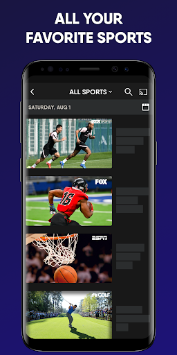 fuboTV: Watch Live Sports, TV Shows, Movies & News screenshots 5