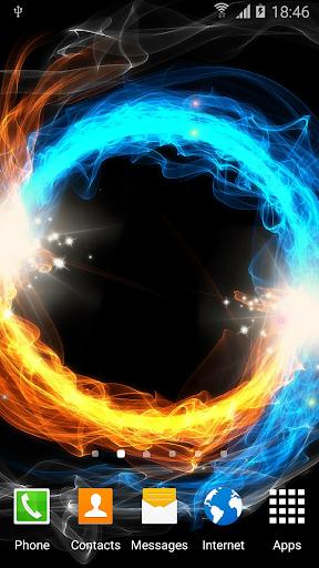 fire & ice live wallpaper screenshot 3