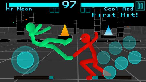 Stickman Fighting: Neon Warriors screenshots 6