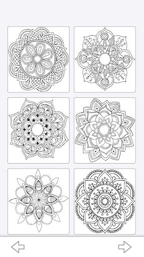 mandala coloring book screenshot 1