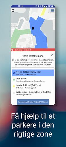 ParkOne - Betal for parkering i hele Danmark 7.3.8 screenshots 2