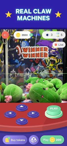 Winner Winner Live Arcade - Real Claw Machines 1.6.0 screenshots 1