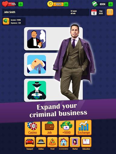 Mafia Boss: Money & Business Life Simulator Game apktram screenshots 8