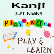 JLPT Kanji N5 & N4 - Play To Learn And Testing