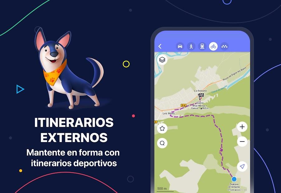 Imágen 3 de MAPS.ME – Mapas sin conexión, navegación GPS para android